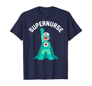 SUPERNURSE MS Medical Surgical Nurses Superhero Nursing Gift T-Shirt