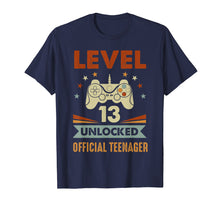 Charger l'image dans la galerie, Official Teenager 13th Birthday T-Shirt Level 13 Unlocked