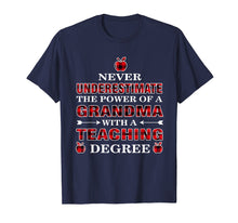 Charger l'image dans la galerie, Funny shirts V-neck Tank top Hoodie sweatshirt usa uk au ca gifts for Never Underestimate The Power Of A Grandma With A Teaching 1403015