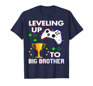 Promoted To Big Brother 2019 Shirt Leveling up to Big Bro
