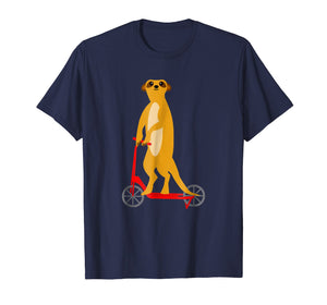Funny shirts V-neck Tank top Hoodie sweatshirt usa uk au ca gifts for Meerkat Riding Scooter T Shirt For Men Women Boys Girls 1358754