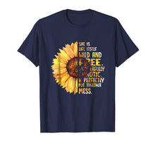 Charger l'image dans la galerie, She Is Life Itself Wild And Free Sunflower T-Shirt