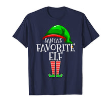 Charger l'image dans la galerie, Santa's Favorite Elf Group Matching Family Christmas Gift T-Shirt