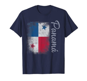 Panama Flag Travel Vintage Panamanian Camiseta T-Shirt