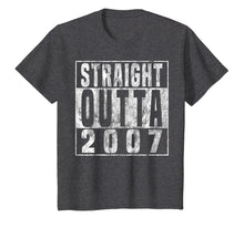 Charger l'image dans la galerie, Straight Outta 2007 12th Birthday Gift T-Shirt 12 years old