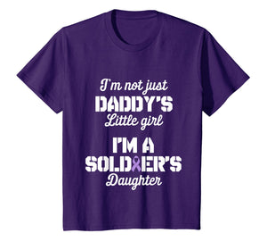Funny shirts V-neck Tank top Hoodie sweatshirt usa uk au ca gifts for Military Child Month Purple Up Pride Soldier Daughter TShirt 1971495
