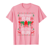 Charger l'image dans la galerie, Oh What Fun It Is To Run Funny Runner Christmas Running Gift T-Shirt