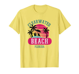 Funny shirts V-neck Tank top Hoodie sweatshirt usa uk au ca gifts for Retro Cool Clearwater Beach Original Florida Beaches Tshirt 2618583