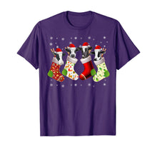 Charger l'image dans la galerie, Santa Cow in Socks Funny Cow Christmas Pajama Gift T-Shirt