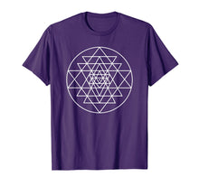 Charger l'image dans la galerie, Funny shirts V-neck Tank top Hoodie sweatshirt usa uk au ca gifts for Sri Yantra Geometric Pattern T-shirt 2905138