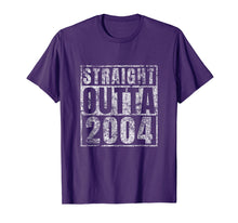 Charger l'image dans la galerie, Straight Outta 2004 15 Year Old 15th Birthday Gift T-Shirt