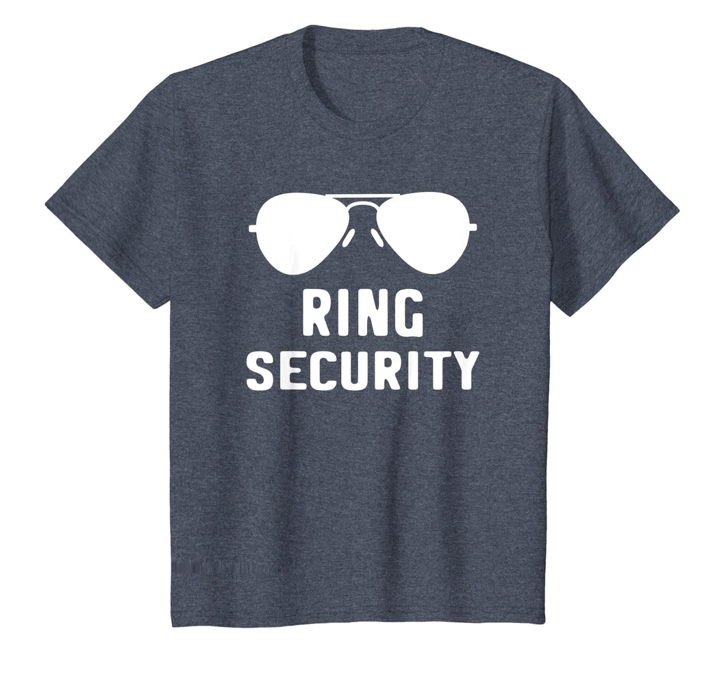 Ring Security T-Shirt Bearer Wedding Gift Shirt