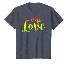 Charger l'image dans la galerie, One Love Rasta Reggae Roots Clothing T Shirt Tee No War