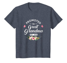 Charger l'image dans la galerie, Promoted to Great Grandma Est 2019 New Grandma To Be Shirt