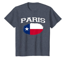 Charger l'image dans la galerie, PARIS TX TEXAS Flag Vintage USA Sports Men Women T-Shirt