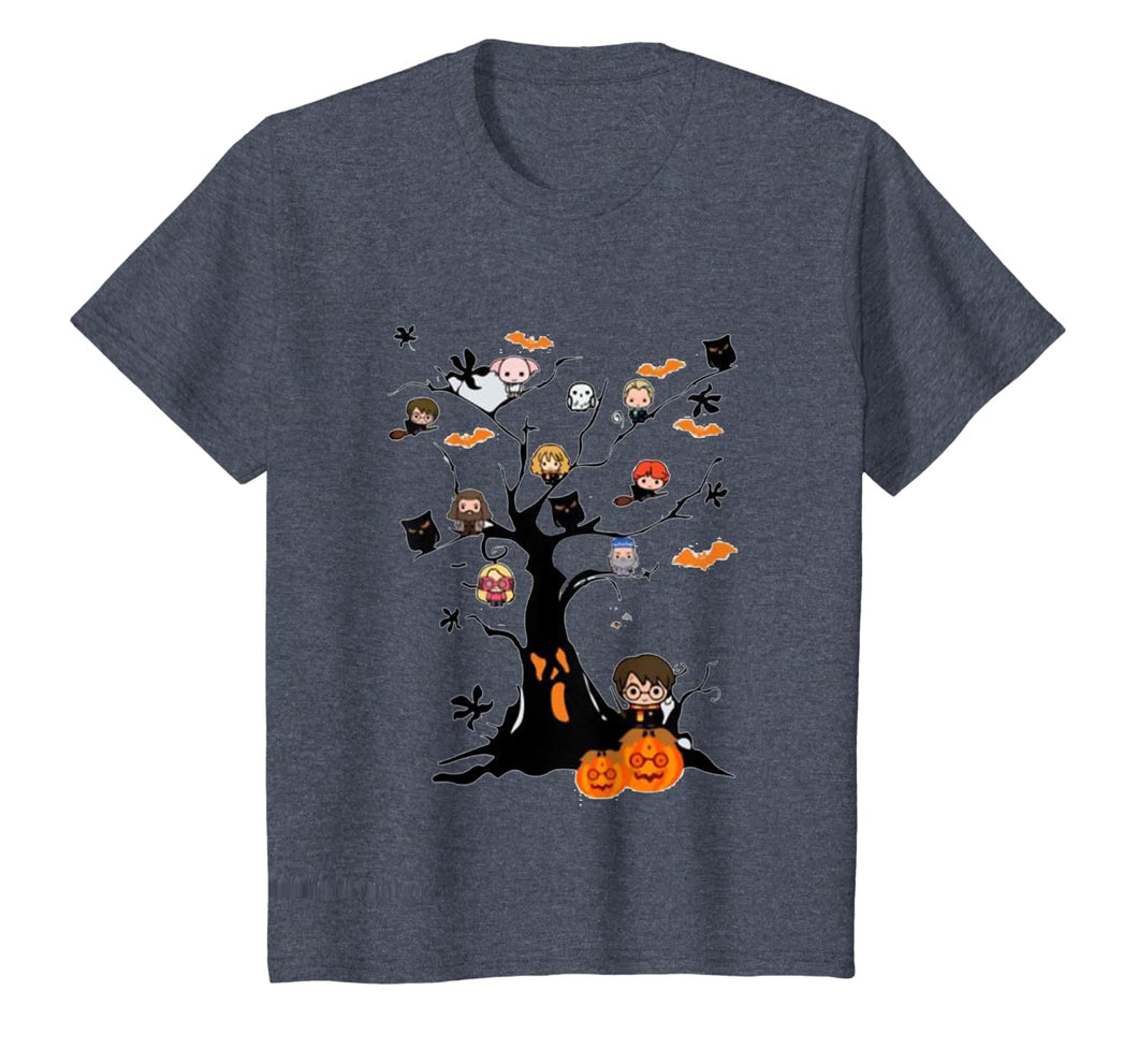 Potter tree Cute Harry Pawter halloween gift  T-Shirt