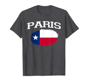 PARIS TX TEXAS Flag Vintage USA Sports Men Women T-Shirt