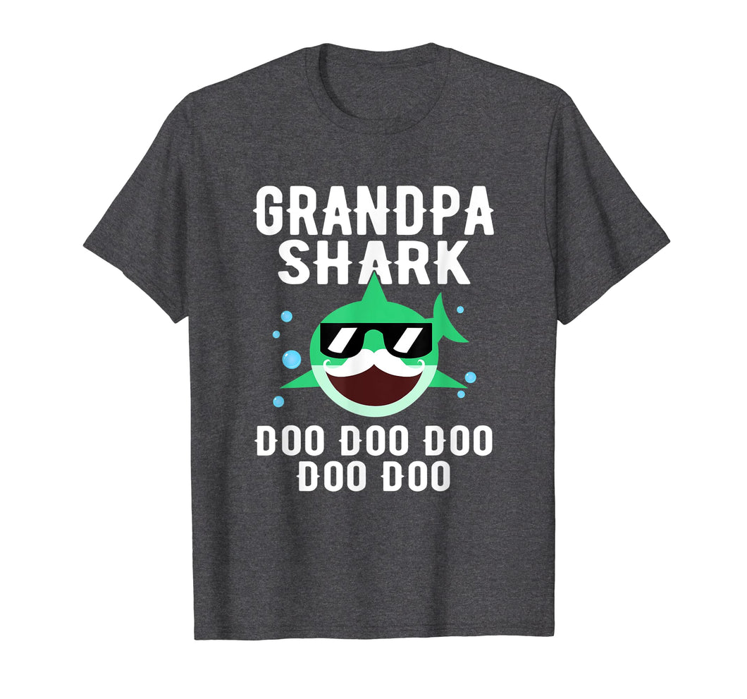 Funny shirts V-neck Tank top Hoodie sweatshirt usa uk au ca gifts for Grandpa Shark Doo Doo Doo Family Shirt Cute Funny Gifts 1152303