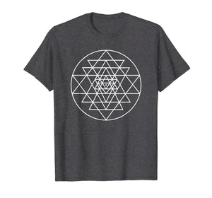 Funny shirts V-neck Tank top Hoodie sweatshirt usa uk au ca gifts for Sri Yantra Geometric Pattern T-shirt 2905138