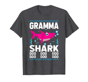 Funny shirts V-neck Tank top Hoodie sweatshirt usa uk au ca gifts for Gramma Shark Doo Doo T-Shirt Funny Kids Video Baby Daddy 2591189