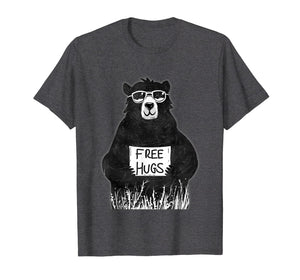 Funny shirts V-neck Tank top Hoodie sweatshirt usa uk au ca gifts for Free Hugs from Grizzly Bear T-Shirt 1052527