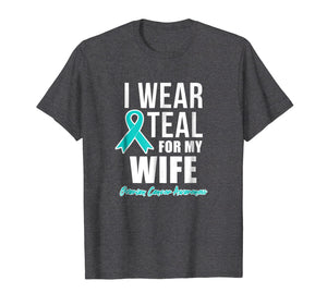 Ovarian Cancer Shirt for Women for Men - Wife