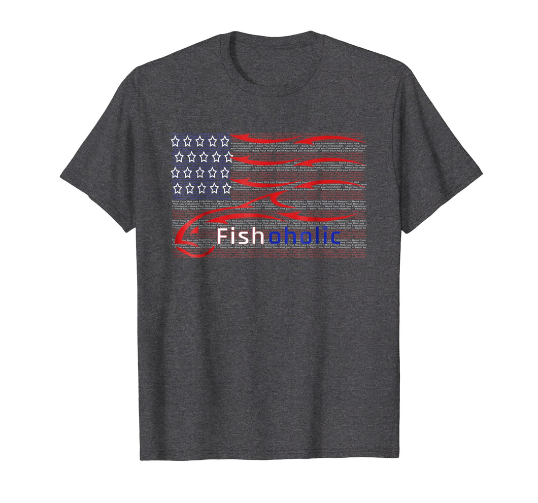 Funny shirts V-neck Tank top Hoodie sweatshirt usa uk au ca gifts for USA flag Fishing Shirt. HIDDEN Fish Words Bend Your Rod. 1227858