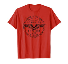 Charger l'image dans la galerie, Soar On Wings Like Eagles Mens Christian T-shirt