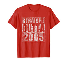 Charger l'image dans la galerie, Straight Outta 2005 14th Birthday Gift 14 Year Old T-Shirt