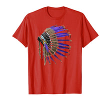 Charger l'image dans la galerie, Rez Native American Buffalo Skulls Feathers Indian Shirt