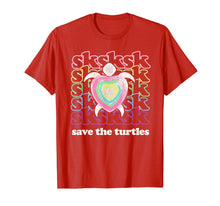 Charger l'image dans la galerie, SKSKSK and I Oop... Save The Turtles Basic Girl T-Shirt