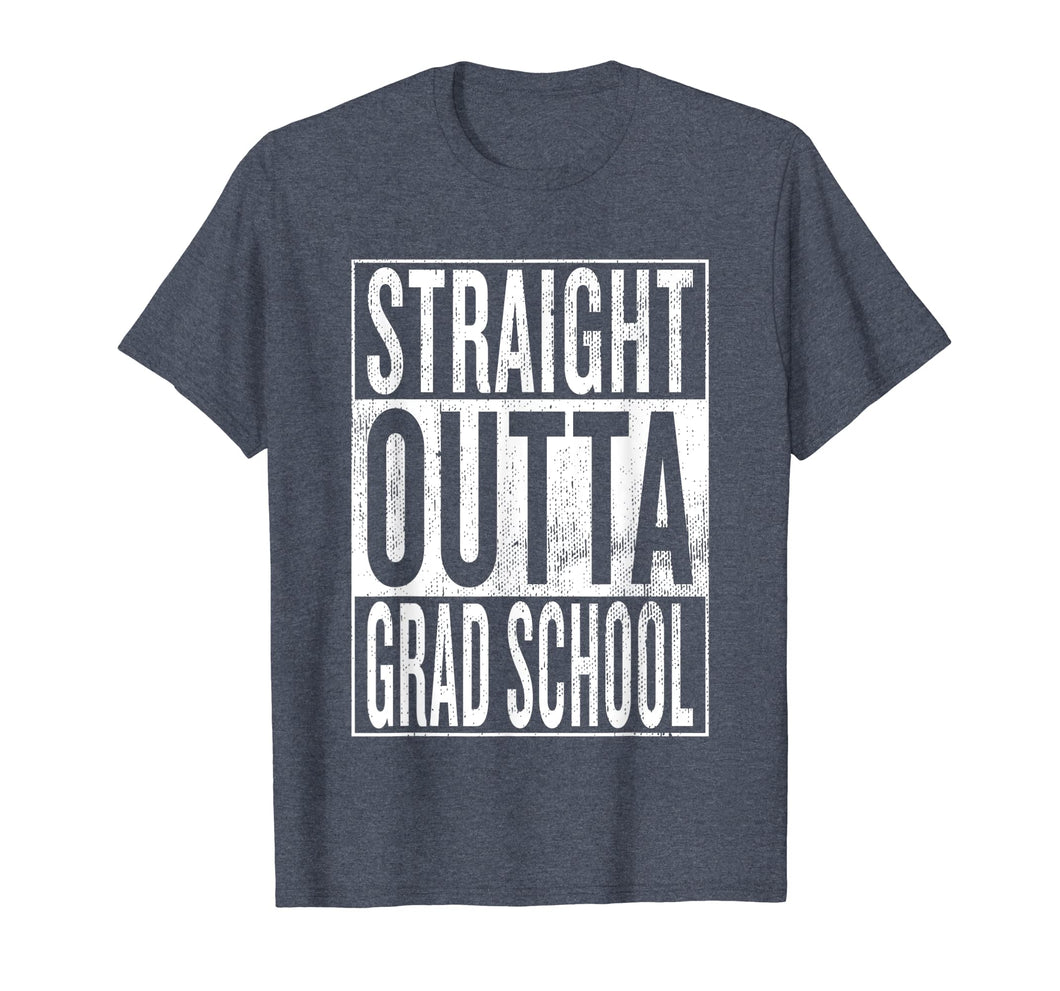 Straight Outta Grad School | Great Graduation Gift Shirt