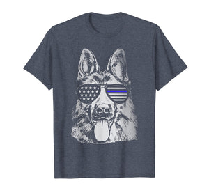 Funny shirts V-neck Tank top Hoodie sweatshirt usa uk au ca gifts for K9 Police Officer Shirt Police Dog Thin Blue Line Gift 257829