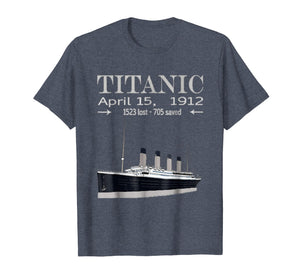 Funny shirts V-neck Tank top Hoodie sweatshirt usa uk au ca gifts for Titanic T-Shirt Vintage Cruise Ship Atlantic Ocean Voyage 2503559