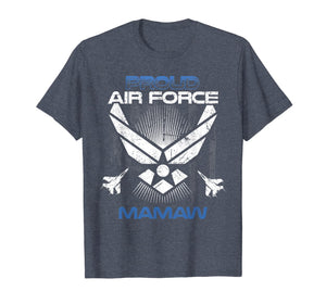 Proud Air Force Mamaw T-Shirt Veterans Day Shirts T-Shirt
