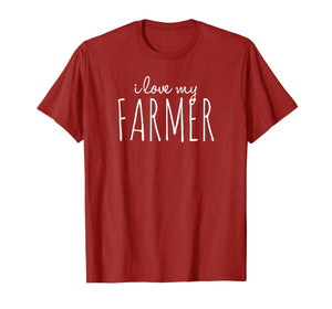 Funny shirts V-neck Tank top Hoodie sweatshirt usa uk au ca gifts for Trend City: I Love My Farmer - Farm Wife Shirt 1460612