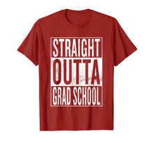 Charger l'image dans la galerie, Straight Outta Grad School | Great Graduation Gift Shirt