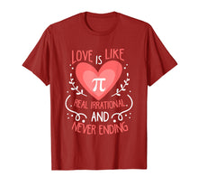 Charger l'image dans la galerie, Funny shirts V-neck Tank top Hoodie sweatshirt usa uk au ca gifts for Love Is Like Pi Never Ending Funny Math Lover T-Shirt Gift 2354985