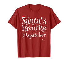 Charger l'image dans la galerie, Santa's Favorite Dispatcher Perfect Christmas Gift T-Shirt
