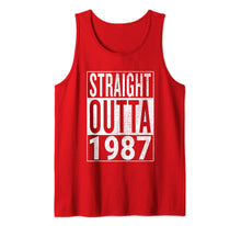 Charger l'image dans la galerie, Straight Outta 1987 Great Birthday Gift Idea | Eye-Catcher Tank Top