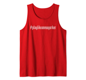 Play Like as New Yorker NY Hockey Team playlikeanewyorker Tank Top
