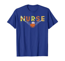 Charger l'image dans la galerie, Nurse Halloween Shirt Gift With Pumpkin Boo Spider Witch Hat T-Shirt