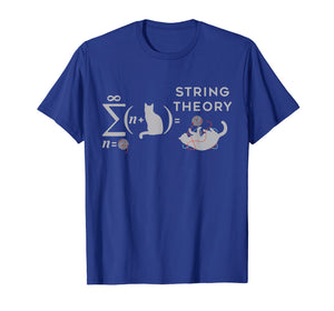 String Theory Cat Yarn Color TShirt For Women Men