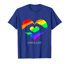 Charger l'image dans la galerie, Funny shirts V-neck Tank top Hoodie sweatshirt usa uk au ca gifts for Love Is Love LGBT Hands Love Heart T-Shirt 1960099