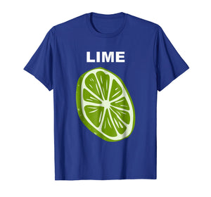 Funny shirts V-neck Tank top Hoodie sweatshirt usa uk au ca gifts for Lime Wedge Slice Costume T-Shirt Tequila Lime And Salt Group 2521568