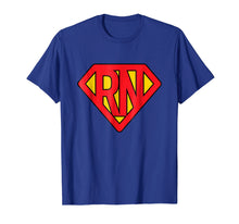 Charger l'image dans la galerie, Super Nurse RN superhero Registered Nurse Hero T-Shirt