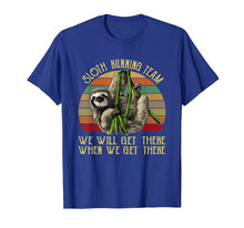 Charger l'image dans la galerie, Funny shirts V-neck Tank top Hoodie sweatshirt usa uk au ca gifts for Vintage Sloth Running Team We'll Get There Tee Sloth Shirt 2507125