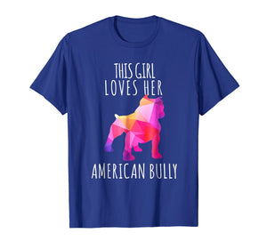 Funny shirts V-neck Tank top Hoodie sweatshirt usa uk au ca gifts for loves American Bully Dog Dog Puppy Lover Tshirt 205422