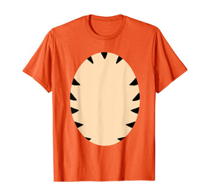 Orange tiger striped costume DIY quickie cute gift  T-Shirt