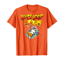 Charger l'image dans la galerie, Roast Beef Cow On Beach Vacation Sun Tan T-Shirt